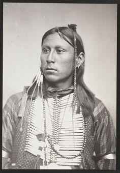 Tsau lau te  (Cry of the Wild Goose), son of  Chief Satanta, Kiowa