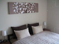 お手製ファブリックパネルの取り付け : remiの部屋 Mid Century Living Room, Love Home, Marimekko, Fabric Panels, House Design, Bedroom, Interior, Home Decor, Magnolia