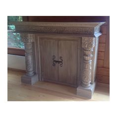 Fireplace frontage turned into a beautiful cabinet Furniture Restoration, Armoire, Cabinet, Storage, Beautiful, Home Decor, Clothes Stand, Clothes Stand, Purse Storage