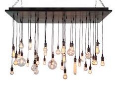 Urban Chandelier Industrial Lighting por IndustrialLightworks