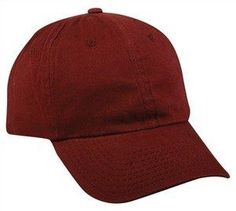 f5b22d82a56 Mid Profile Unstructured Brushed Twill. Baseball HatsCapCottonPromotional  ...