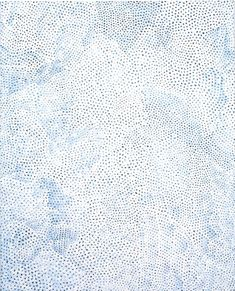 Yayoi Kusama Infinity Nets (QXTD), acrylic on canvas; 162 x 130 cm Textile Prints, Textiles, Textures Patterns, Print Patterns, Painting Patterns, Motifs Organiques, Bric À Brac, Le Grand Bleu, Art Japonais