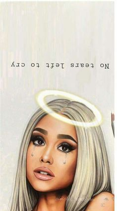 left to cry -ARIANA EDIT no tears left to cry - ۞ aceito pedidos ۞ comente 'pg' caso pegue algum ๑packs(icons + head… Diversos amreading books wattpad Ariana Grande - Wallpaper iphone aesthetic queen 68 ideas billie eilish Ariana Grande Fotos, Ariana Grande Drawings, Ariana Grande No Makeup, Ariana Grande Tumblr, Wallpaper Ariana Grande, Ariana Grande Background, Selena Gomez, Dangerous Woman, Cute Wallpapers