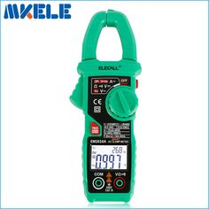 EM2016A 6000 Count Smart Measurement Digital Clamp Meter Measure Peak Current Clamp Head Frequency Measure