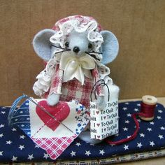 Red White Blue OFG team by Christa Hartman on Etsy