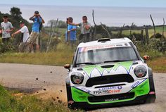 Dani Sordo gana con el nuevo Mini JCW S2000