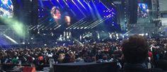 Concert de Johnny Hallyday, le 16 juin au Stade de France.