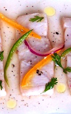 Try using swordfish for your ceviche next time.