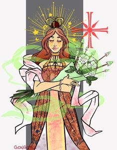 faith seed - horseman of pestilence all the lewks at the MET gala got me inspired >:O