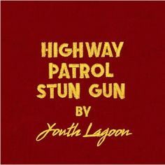 "Love the progression of Youth Lagoon's ""Highway Patrol Stun Gun""! Tune in with us"