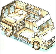 Connect with the van life community on our forum. Ask questions, engage, interact discuss, and unite with fellow nomadic!You Must Know About Minivan Camper Conversion - Vanlife & Caravan RenovationND - I like this style for a van sketch - PhotopinJust bec Minivan Camper Conversion, Camper Van Conversion Diy, Sprinter Van Conversion, Diy Van Camper, Van Conversion Layout, Van Conversions Ideas, Convert Van To Camper, Vw Camper Vans, Van Conversion With Bathroom