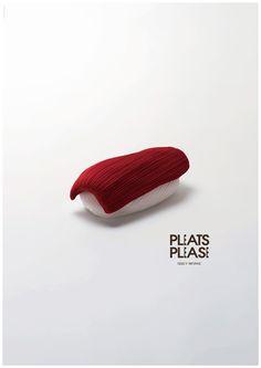Japanese Graphic Design - 100 Posters - 2001-2010 - Taku Satoh - Pleats Please Issey Miyake Brand Ad 2009