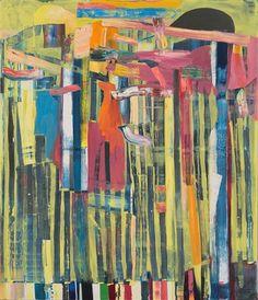 Tomory Dodge, Summer Legs, 2014. Oil on canvas. 213.4cm H 182.9cm W.