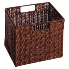 Costa Wicker Storage Basket (Set of 2)