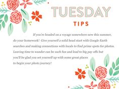 We hope everyone is having a TERRIFIC Tuesday!   http://www.everythingbloom.com/tuesday-tips-163-%C2%B7-summer-lovin
