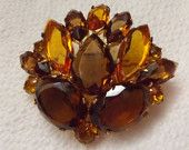 Golden Amber - It's More Than Glassware! by Jenni on Etsy