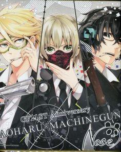 Aoharu x Kikanjuu.Matshuo-kun<3Tachibana-chan<3Yukimura-kun<3..Action but mix w/ comedy :v