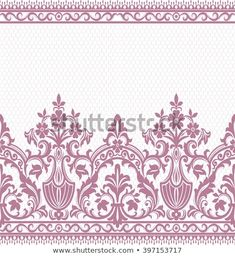 Find vintage floral stock images in HD and millions of other royalty-free stock photos, illustrations and vectors in the Shutterstock collection. Embroidery 3d, Bead Embroidery Patterns, Hand Embroidery Designs, Lace Patterns, Flower Patterns, Pattern Flower, Floral Vintage, Vintage Flowers, Vector Background