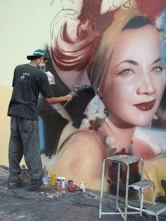 Artist Eduardo Kobra, graffiti in Brazil ❤ Reiseausrüstung mit Charakter gibt's auf vamadu.de