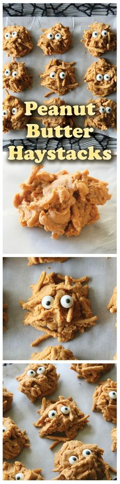 Peanut Butter Haystacks are creamy peanut butter and butterscotch covered chow mein noodle clusters. Make this easy snack recipe for a party!