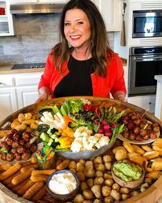 Host a springtime gathering with a collection of small snack bites from Farm Rich on an Epic Easter Entertaining Snack Board! Party Food Platters, Food Trays, Party Trays, Party Food Bars, Easy Party Food, Bar Food, Party Buffet, Easter Recipes, Appetizer Recipes