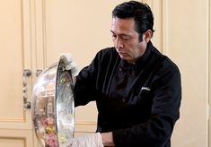 My facebook buddy Chef Bernie from Beverly Hills Houswives...Bravo TV