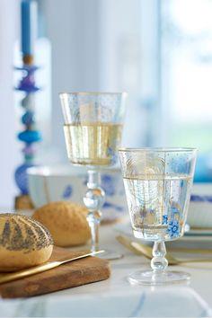 Royal Golden Flower water glass low - Pip Studio