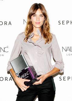 Alexa Chung at Nails Inc. launch at Sephora in NYC - 10 September 2014