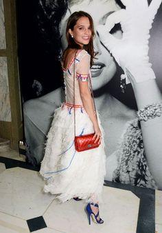 Ex Machina's Alicia Vikander Is Definitely a Style Star to Watch