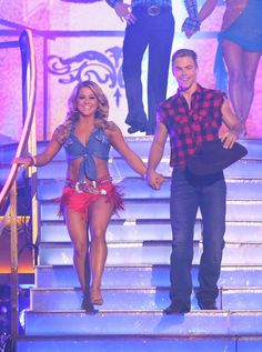 Dancing With The Stars: All-Stars Week 6 My favs to win: Shawn and Derek