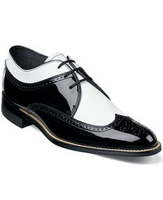Stacy Adams Shoes, Dayton Wing Tip Lace Up Shoes - Extended Sizes - Men - Macy's