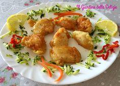 Le pepite di pollo pastellate sono una gustosa preparazione, un modo alternativo per cucinare il petto di pollo non ai ferri non a cotoletta