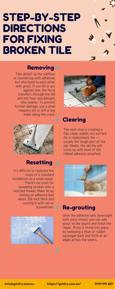 A broken tile on the #floor can cause damp of the whole house. To avoid damp of the floor you need to fix the broken #tile. Here you can find step by step directions for fixing #broken tile.