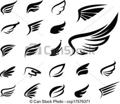 - Buy this stock vector and explore similar vectors at Adobe Stock Music Bird Tattoos, Tatoos, Fine Art Photo, Photo Art, Alas Tattoo, Feather Clip Art, Wings Icon, Wing Tattoo Designs, Wings Logo