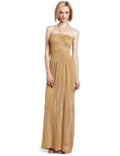 (Limited Supply) Click Image Above: Bcbgmaxazria Women's Albaneth Long Strapless Dress