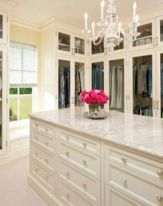 Storage & Closets Photos Master Bedroom Closet Design, Pictures, Remodel, Decor and Ideas - page 6 Walk In Closet Design, Closet Designs, Dressing Room Closet, Dressing Rooms, Beautiful Closets, Casa Clean, Master Bedroom Closet, Bedroom Closets, Girls Bedroom