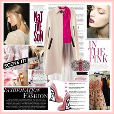 """""""in the pink"""" by maxi888 ❤ liked on Polyvore"""