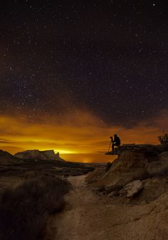 The Night Photographer  by Martin Zalba