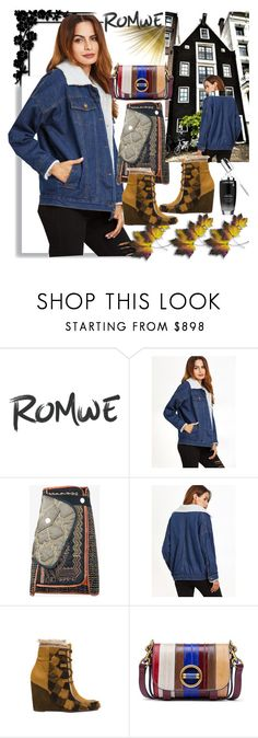 """""""Romwe"""" by vaslida ❤ liked on Polyvore featuring Peter Pilotto, Frye and Tory Burch"""