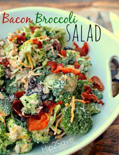 Bacon Broccoli Salad