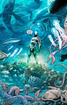 Aquaman #17 - Written by Geoff Johns, Pencils by Paul Pelletier