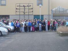 Leerlingen van leerjaar 1 en 2 van het VMBO in Roermond hebben vandaag tijdens de sponsorloop voor Orange Babies het enorme bedrag ingezameld van.....  € 3500,-