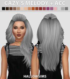 Hallow Sims: Poseidonsims Tulip hair retextured  - Sims 4 Hairs - http://sims4hairs.com/hallow-sims-poseidonsims-tulip-hair-retextured/