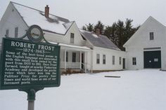 A literary road trip through New England - Robert Frost's Farm in New Hampshire