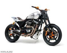 ϟ Hell Kustom ϟ: Harley Davidson By Kraus Motor