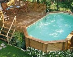 Above Ground Pool Deck Ideas On a Budget the most common