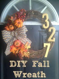 DIY wreath. My favorite!