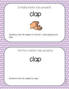 Action Words/Verb Task Cards for Students with Autism #autism Pinned by AutismClassroom.com Follow us at http://www.pinterest.com/autismclassroom/