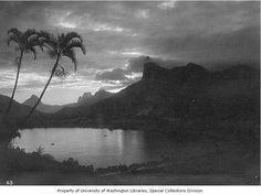 Lagoa por volta de 1885.