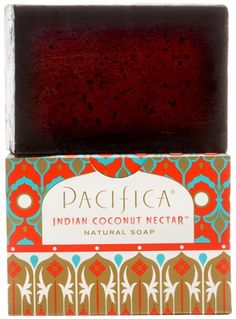 Dry Sensitive Skin? Try Pacifica Indian Coconut Nectar Natural Soap - Gluten Free Natural Vegan Soap Bar. Pacifica's Indian Coconut Nectar is a sensuous & delicious blend inspired by travels to faraway destinations. This warm, sultry blend of coconut & delicate creamy vanilla is pure ambrosia. #Vegan #Pacifica #SoapBar #SensitiveSkin #Eczema #Coconut #Natural #Organic